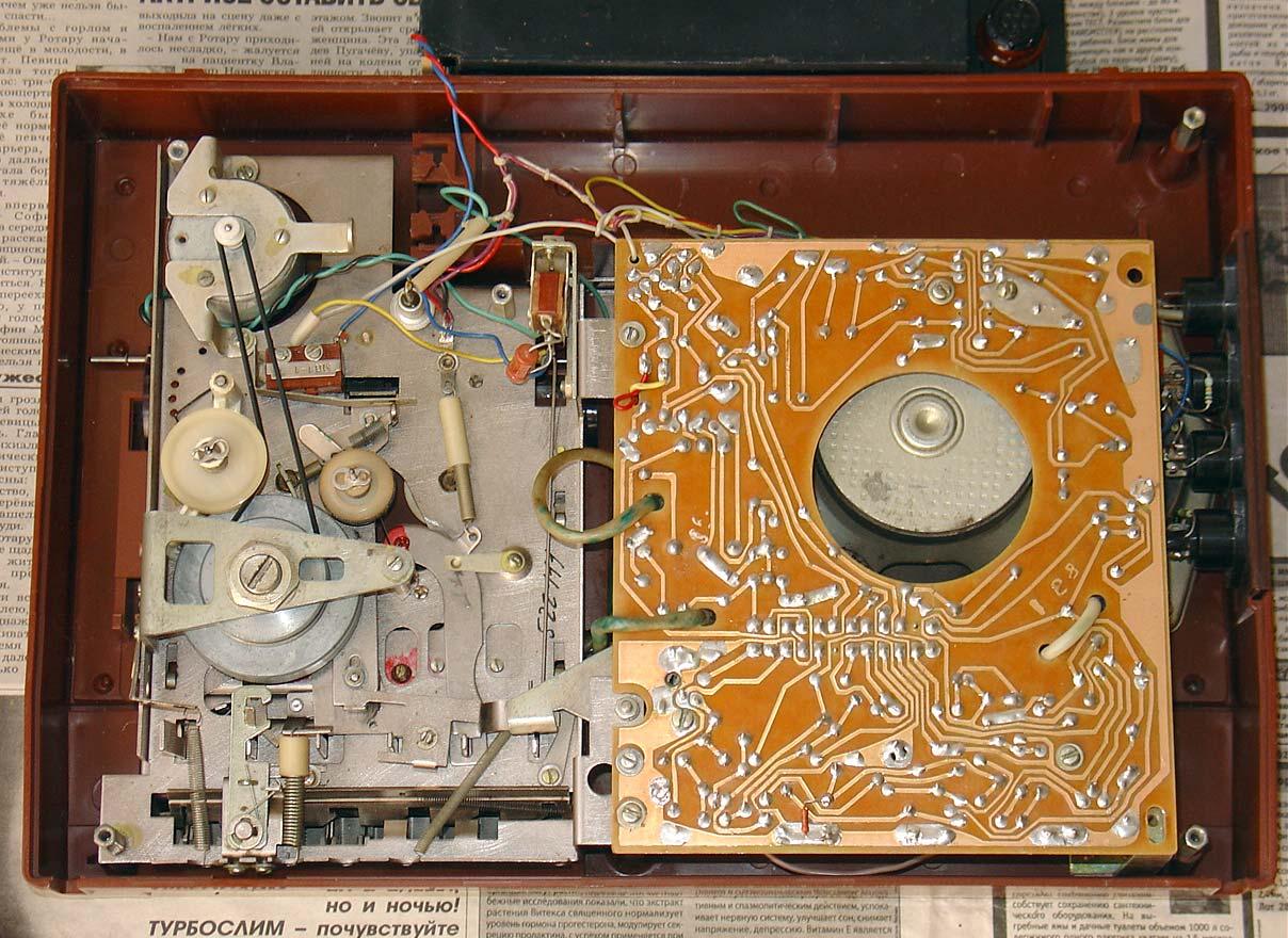 Как сделать из магнитофона 544