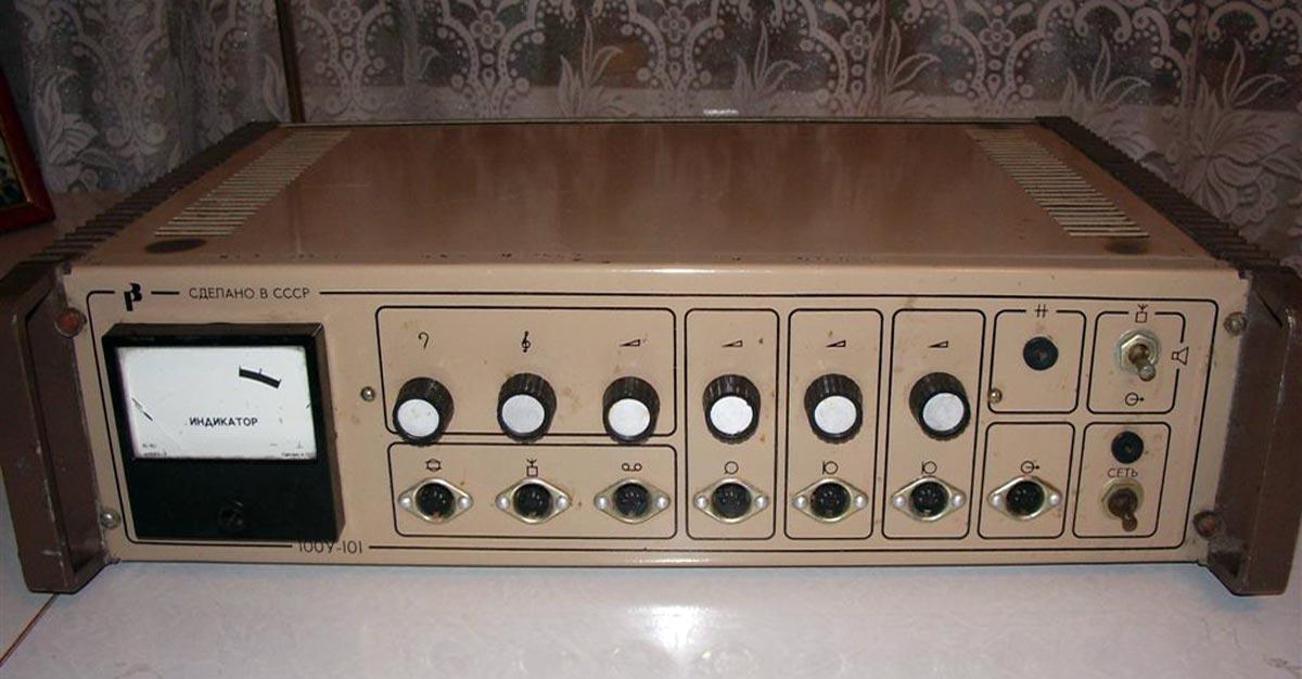 Схема трансляционный усилитель 100у-101